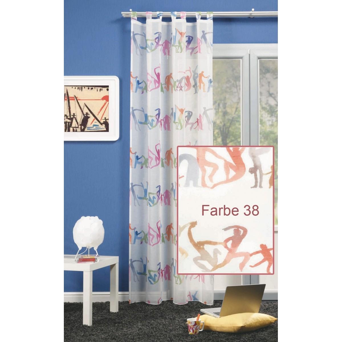 """Stylischer Schlaufenschal """"Groove"""" Vorhang Farbe 38"""