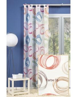 """Stylischer Schlaufenschal """"Orbit"""" Vorhang Farbe 38"""