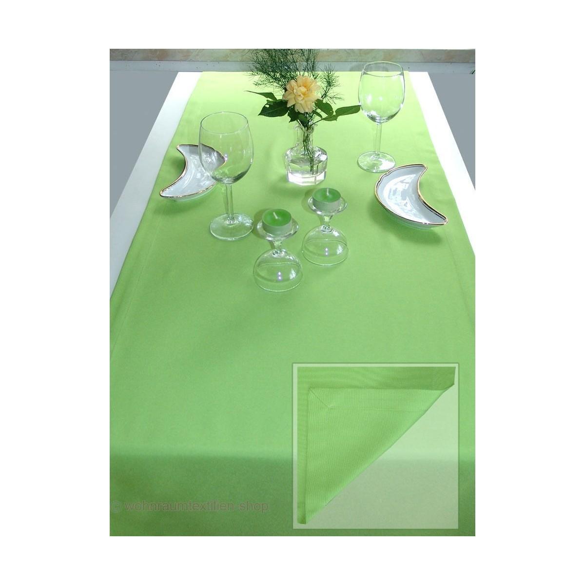 Tischläufer Lavina Grün 50 x 140 cm