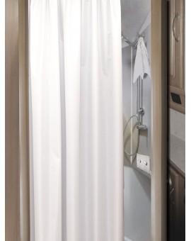 Duschvorhang für Caravan - nach Maß in Tür