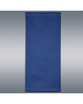 Flächengardine Mattis blau uni Detailansicht