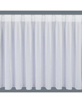 Wohnwagen-Caravan-Store SOPHIE weiß Flachfaltenband Wunschhöhe