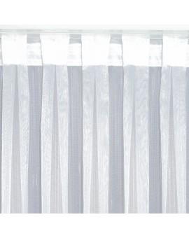 Wohnwagen-Caravan-Store ANNA weiß Flachfaltenband Detailansicht