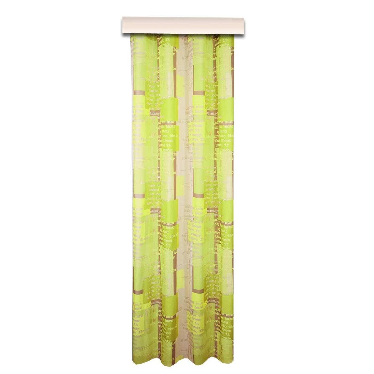 Dekoschal modern Coventry grün Reihband