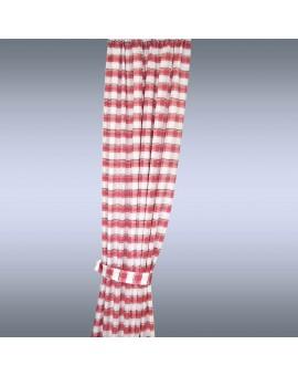 Melli in Rot 2 Schal mit Raffhalter