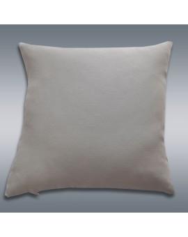 Kissenhülle Hetty Grau uni Musterbild