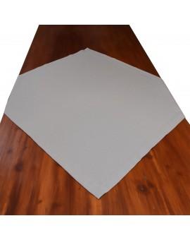 Landhaus-Mitteldecke Hetty Grau uni auf einem Tisch