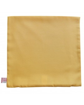 Kissenhülle Hetty Gelb uni ohne Füllung
