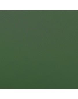 Querbehang Hetty Grün mit Reihband Stoffmuster