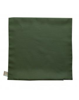 Kissenhülle Hetty Grün uni ohne Füllung