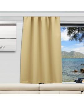 Wohnmobil-Vorhang Mattis beige