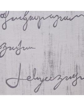 Flächengardine Ivo grau Reihband Muster