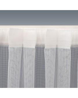Wohnwagen Store MAILIN mit Flauschband Detail oben