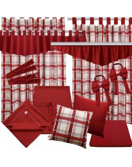 Schleifen-Raffhalter Hetty Rot Raffband alle passenden Produkte