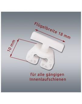 10 Stck. SeGaTeX Gardi-Stopp Uni-Feststeller mit Maß