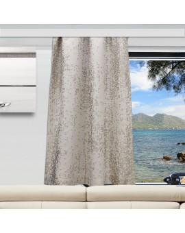 Wohnmobil-Vorhang LUCA beige