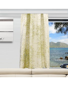 Wohnmobil-Vorhang LUCA grün