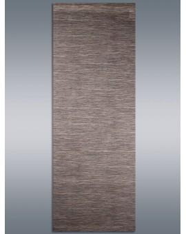 """Moderner Schiebevorhang Flächenvorhang """"Marian"""" braun mit Profil & Gardinenband"""