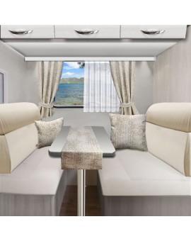 Tischläufer Tischdecke LUCA beige für Wohnmobil Caravan 40x120 cm alle passenden Produkte