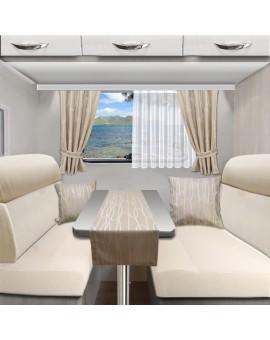 Tischläufer Tischdecke NAUTIS beige für Wohnmobil Caravan 40x120 cm alle passenden Produkte