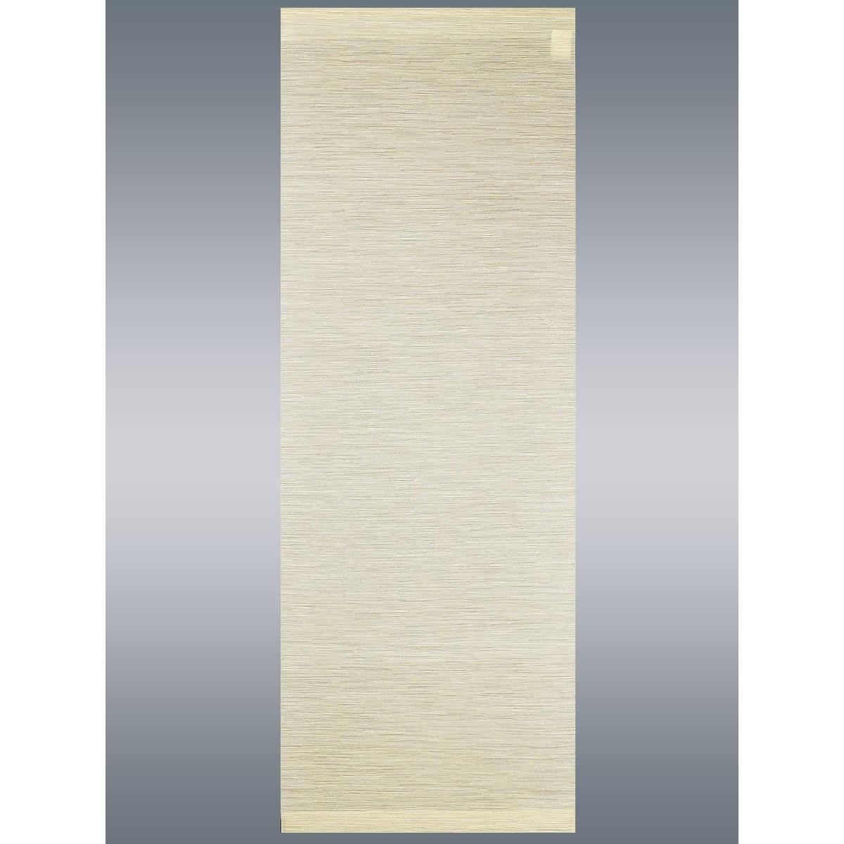 """Moderner Schiebevorhang Flächenvorhang """"Marian"""" beige mit Profil & Gardinenband"""