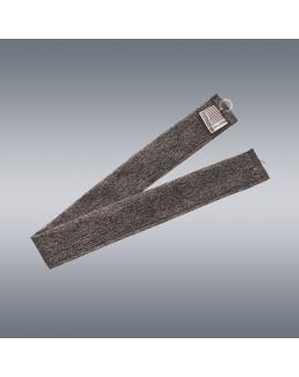 1 Stück Raffhalter braun uni passend zu Dekoschal-Serien Alpin und Albergo mit Hintergrund