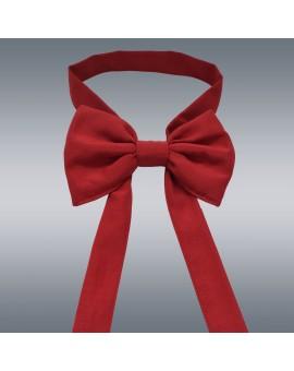 Schmuckschleife Hetty für Stuhlhussen und Stehtische Rot