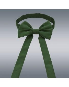 Schmuckschleife Hetty für Stuhlhussen und Stehtische Grün