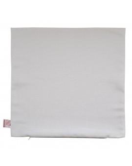 Hochwertige Kissenhülle Husum grau uni 40x40 cm ohne Füllung