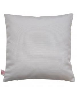 Hochwertige Kissenhülle Seaside grau uni 40x40 cm