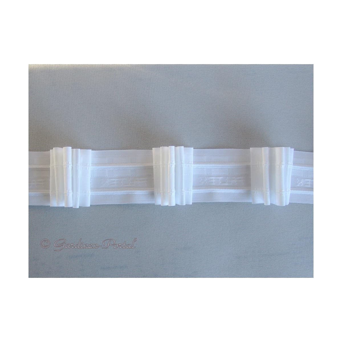 heimtextilien zubeh r zugband automatik faltenband 5 falten 12125 50. Black Bedroom Furniture Sets. Home Design Ideas