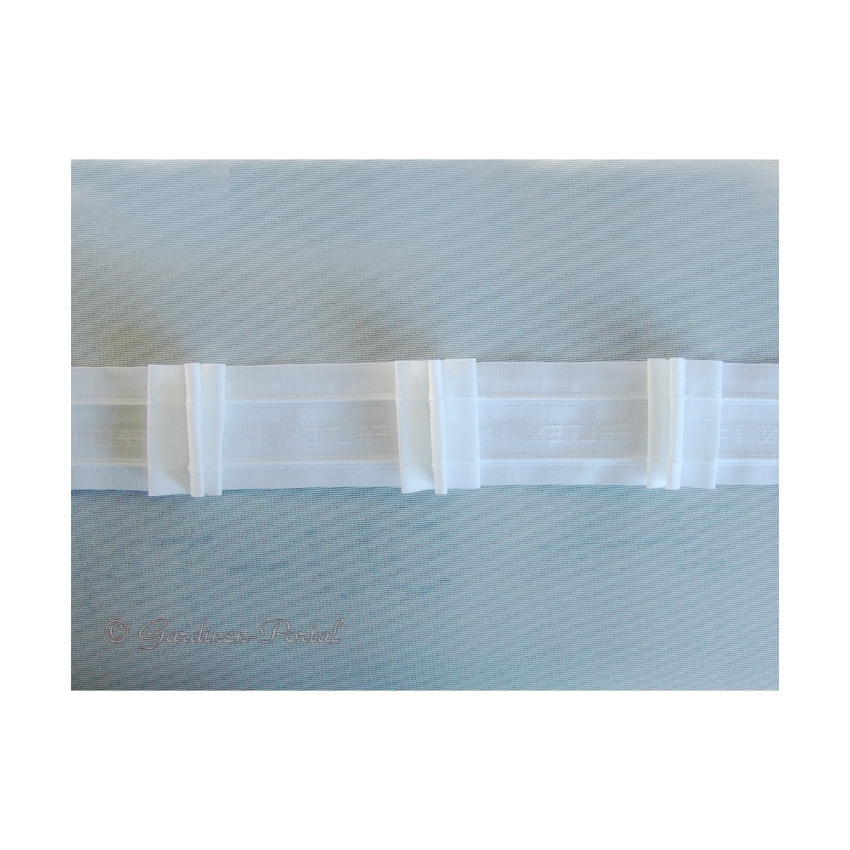 heimtextilien zubeh r zugband automatik faltenband 3 falten 1 2 w. Black Bedroom Furniture Sets. Home Design Ideas