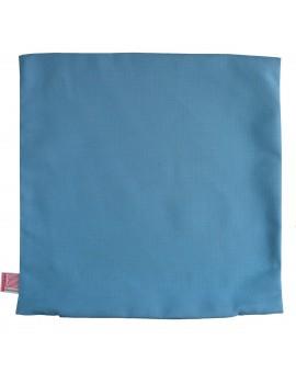 Kissenhülle Blubb-Kids Hellblau uni 40x40 cm ohne Füllung