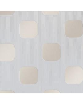 """Flächengardine """"Pia"""" mit Sherli-Muster Schiebevorhang grau Stoffmuster"""