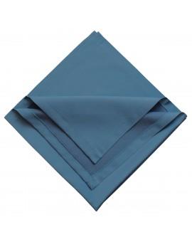 Mitteldecke Rügen blau uni