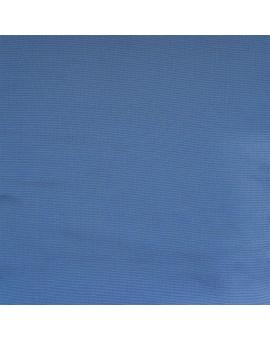 Hochwertiger Ösenschal Husum blau unifarben Chromösen SToffmuster