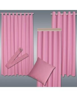 Kinder-Dekoschal Blubb-Kids Rosé Pink mit Chrom-Ösen alle passenden Produkte