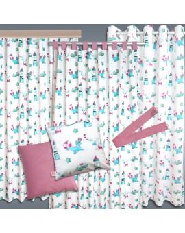 Kollektion Blubb-Kids Grün-Pink passende PRodukte mit lustiger Seerobbe