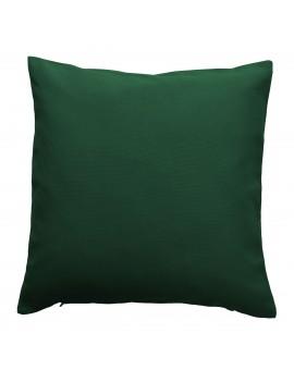 Kissenhülle grün uni passend zu Landhaus-Serie Knut 40x40 cm