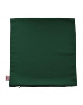 Kissenhülle grün uni passend zu Landhaus-Serie Knut 40x40 cm ohne Füllung