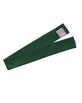 1 Stück Raffhalter grün uni passend zu Dekoschal-Serie Knut