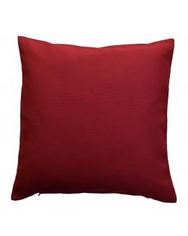 Kissenhülle rot uni passend zu Landhaus-Serie Knut