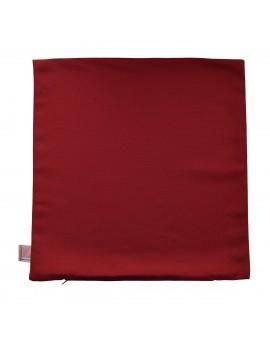 Kissenhülle rot uni passend zu Landhaus-Serie Knut ohne Füllung