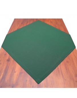 Mitteldecke Knut grün uni auf dem Tisch