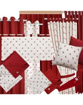 Kollektion Knut in Rot alles