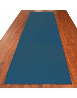 Tischläufer Seaside blau uni gedeckt
