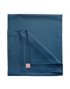 Tischläufer Husum blau uni Musterbild