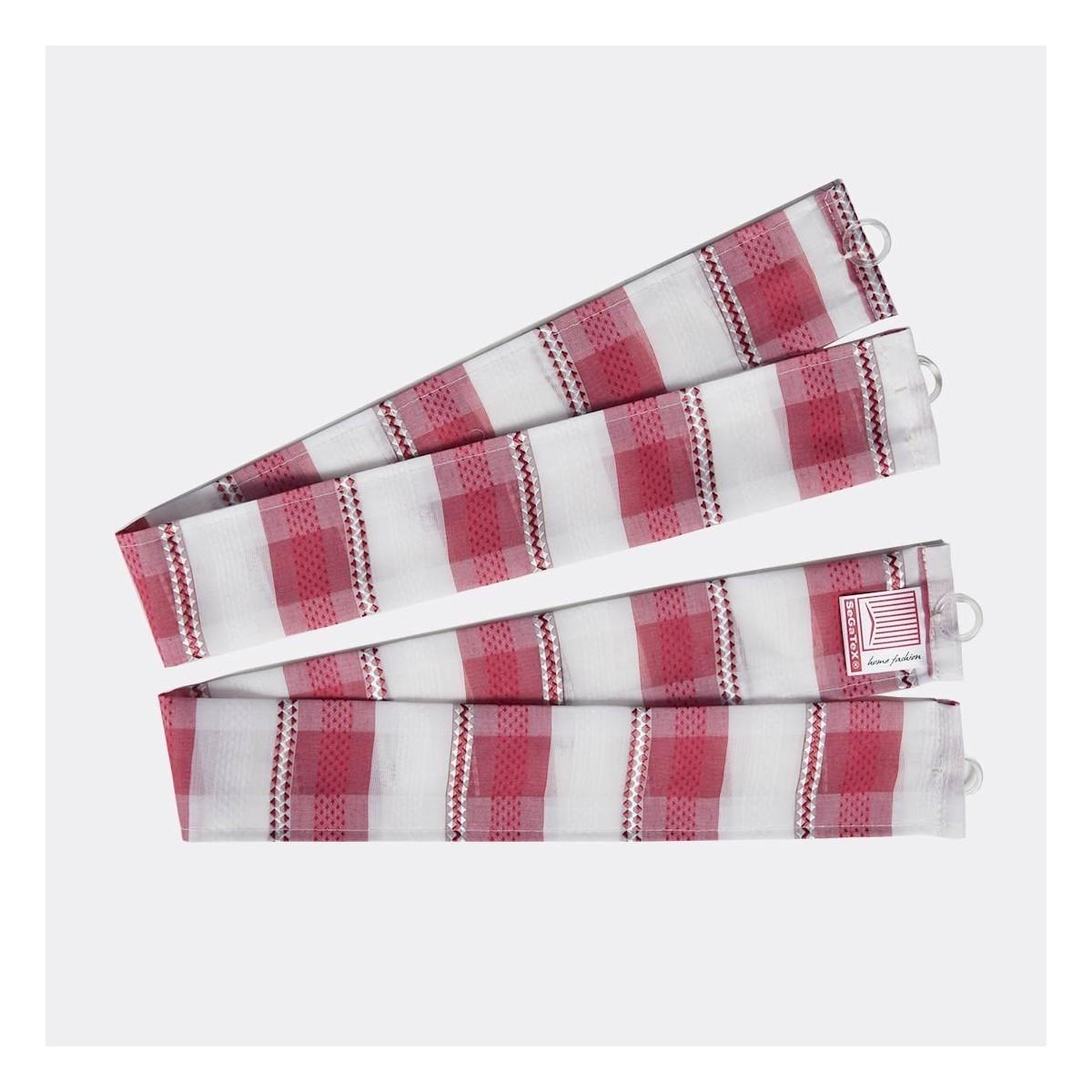 """Raffhalter """"Melli in Rot"""" 5081821 2er-Set passend zur Dekoschalgarnitur """"Melli in Rot"""""""