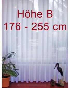"Fertigstore Lang-Store ""Sophie"" Maßgefertigt Sablé weiß Höhe B"