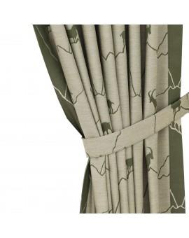 Raffhalter Breno mit Steinbock grün Beispielbild